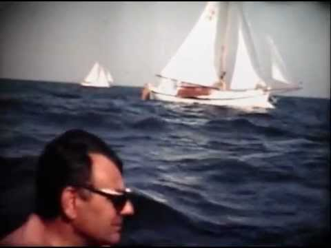 Sailing 1971 1975 on the Jan Klaassen, a 1907 Botter. Admiraalzeilen en Flevorace.