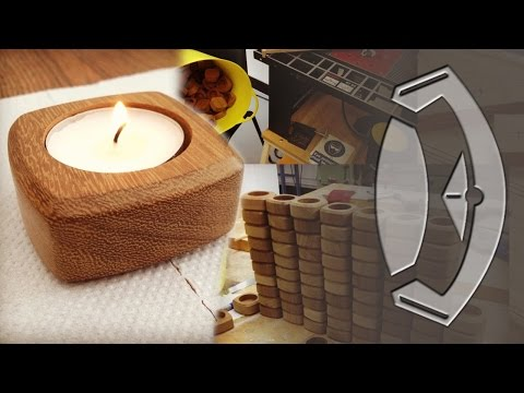 Handmade Wooden Tea Light Holders From Start To Finish