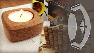 Handmade Wooden Tea Light Holders From Start To Finish