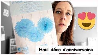 J'ai Trouve Les Deco D'anniversaire D'enzo | Family Vlog
