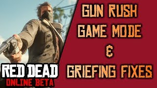 Gun Rush Game Mode, Griefing Fixes, and More - Red Dead Online Update and News