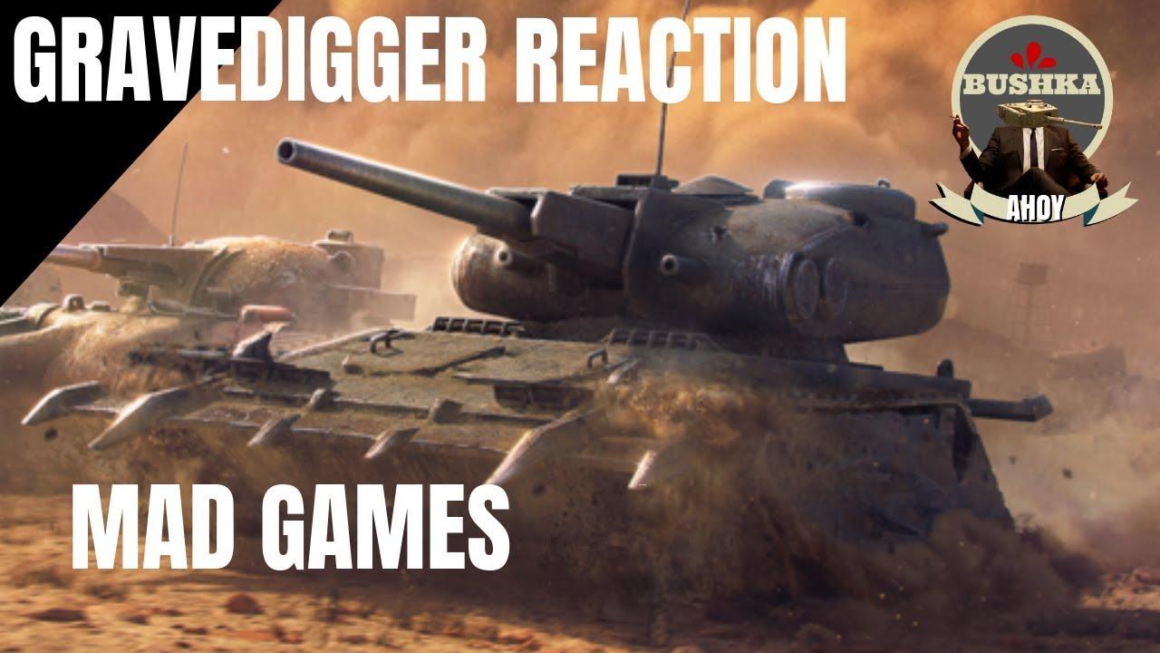 THE GRAVEDIGGER - MAD GAMES - WORLD OF TANKS BLITZ