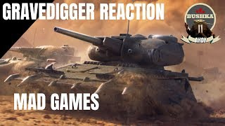 THE GRAVEDIGGER - MAD GAMES - WORLD OF TANKS BLITZ