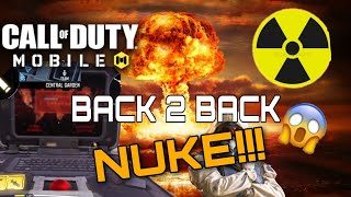 BACK 2 BACK NUKES | COD MOBILE GUIDE TO GET NUKE
