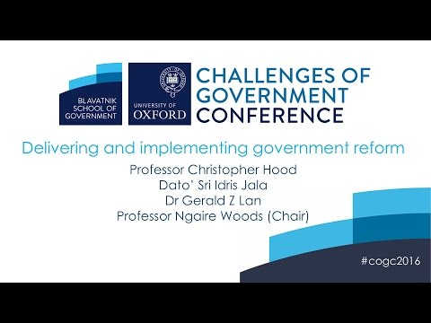 Delivering and implementing government reform