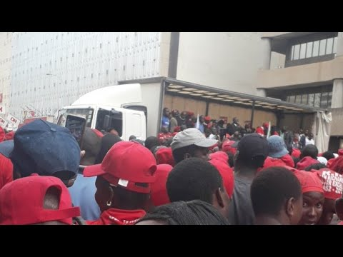 Chamisa addresses MDC Supporters