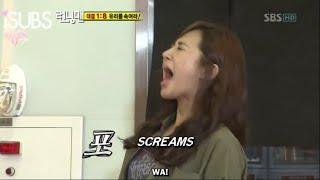 vuclip Frustated Yuri SNSD || Running Man 16