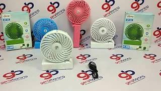 VOTRE Kipas Angin Lipat Mini Portable Handy Mini Fan + Powerbank + senter - New