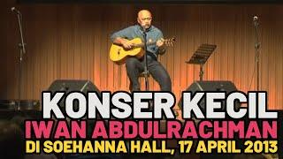 Abah Iwan Abdulrachman Menyanyi untuk Kang Ridwan Kamil