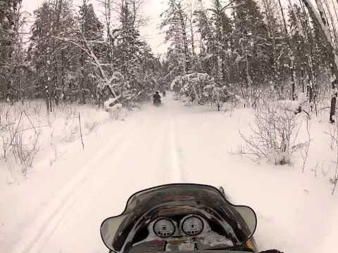 Bayfield, Wi Snowmobiling