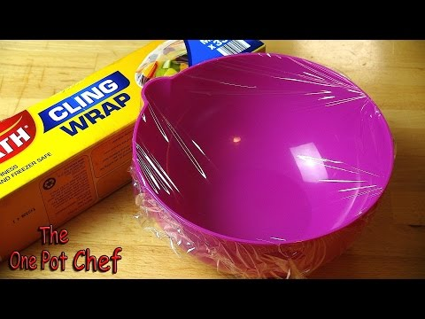 Quick Tips: Cling Wrap Hack | One Pot Chef