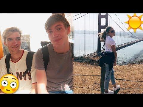 Op VAKANTIE met 2 ANDERE JONGENS!? - San Francisco Vlog #1