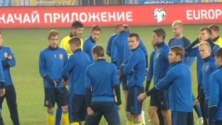 Политика вокруг футбола  сборная Украины играет домашний матч в Польше  Факты недели 09 10