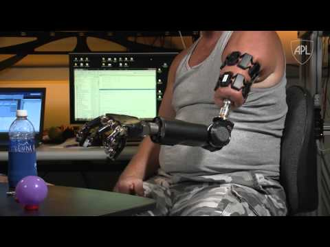 APL's Modular Prosthetic Limb Reaches New Levels of Operability