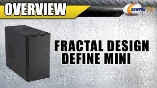 Newegg Tv: Fractal Design Define Mini Black Micro Atx Silent Pc Computer Case Overview