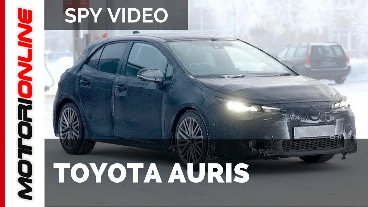 toyota auris 2018 spy video february youtube. Black Bedroom Furniture Sets. Home Design Ideas