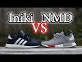Adidas NMD Vs Iniki Boost | On-Feet Comparison and Close Up