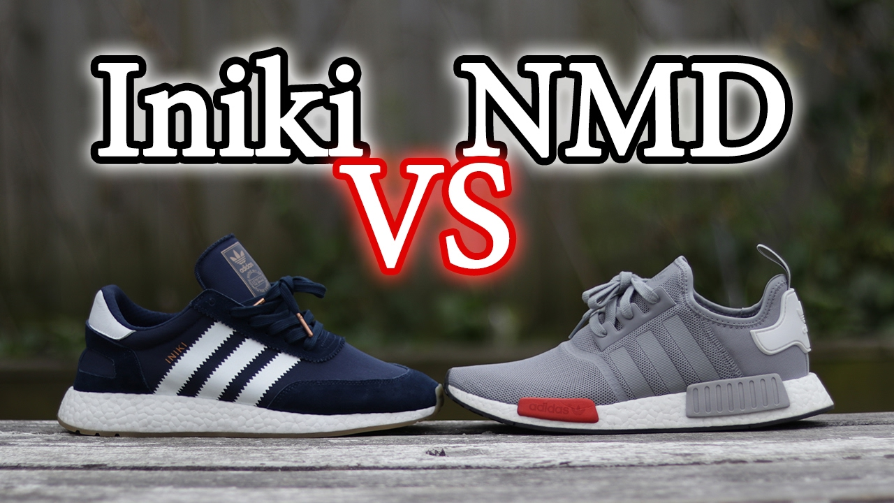 Adidas NMD Vs Iniki Boost | On Feet Comparison and Close Up
