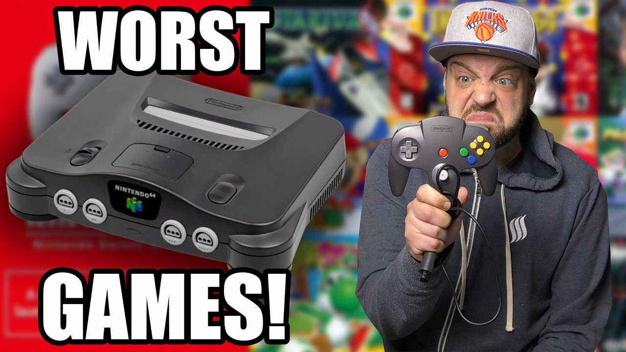 Download The 5 WORST N64 Games We DON'T Want On Nintendo Switch Online!
