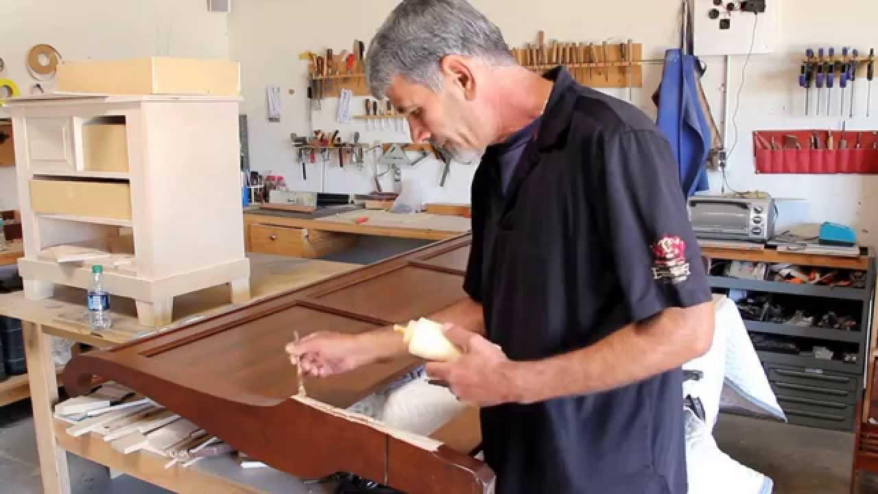 How to repair Broken Bed Rail - DIY Furniture Repair - YouTube