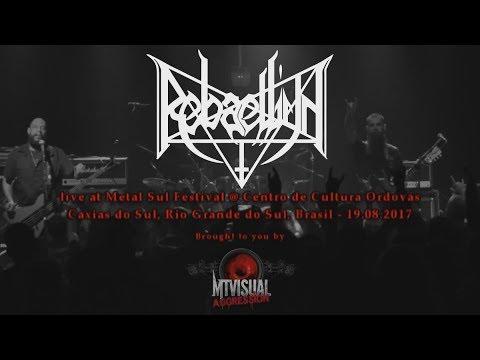 REBAELLIUN - Live at Metal Sul Festival [2017] [FULL SET]