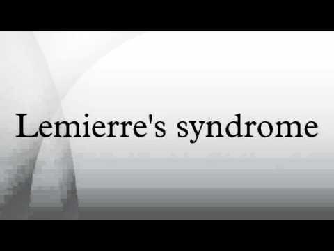 Lemierre's syndrome