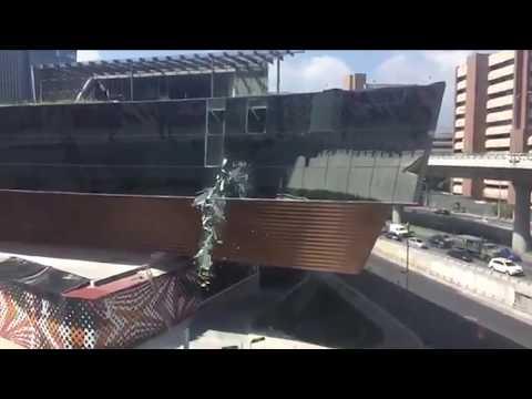 Derrumbe en Plaza Artz Pedregal | Noticias de última hora