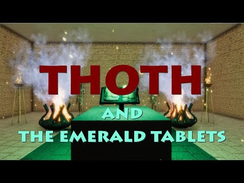 WOODWARDTV PRESENTS: THE ANIMATED COLLECTION - THOTH And The EMERALD TABLETS