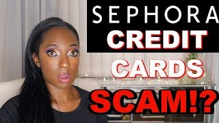 Sephora Credit Cards are a SCAM!? | Sephora Credit Card 2019