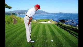 Trump golf swing