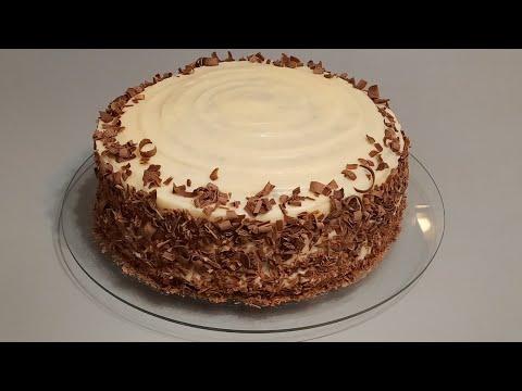 Бисквитный торт с