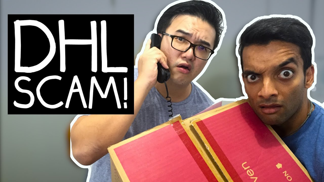 DHL SCAM EXPOSED!