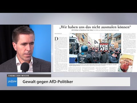 Ein Blick in die neue JF (04/19): Gewalt gegen AfD-Politiker