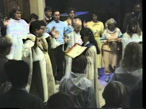 1990 Easter Vigil St. Mark's Episcopal Church Palo Alto (Part 3/3)