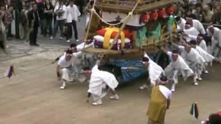 長崎くんち 八坂町 川船 八坂神社