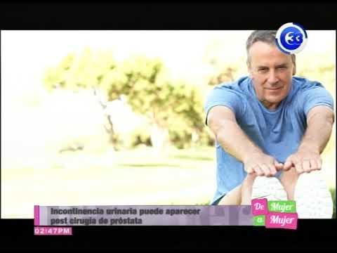 incontinencia luego de operacion de prostata