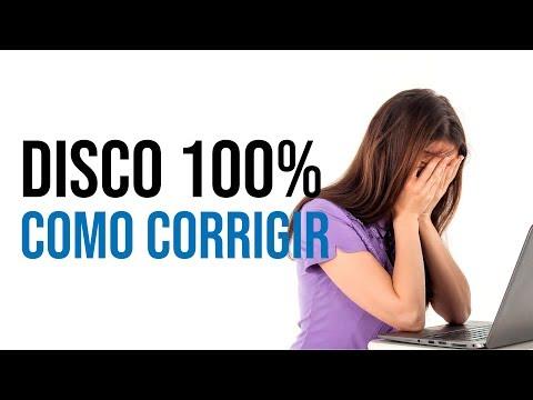 Como CORRIGIR O Problema De DISCO 100% No Windows 10 - PC LENTO E TRAVANDO