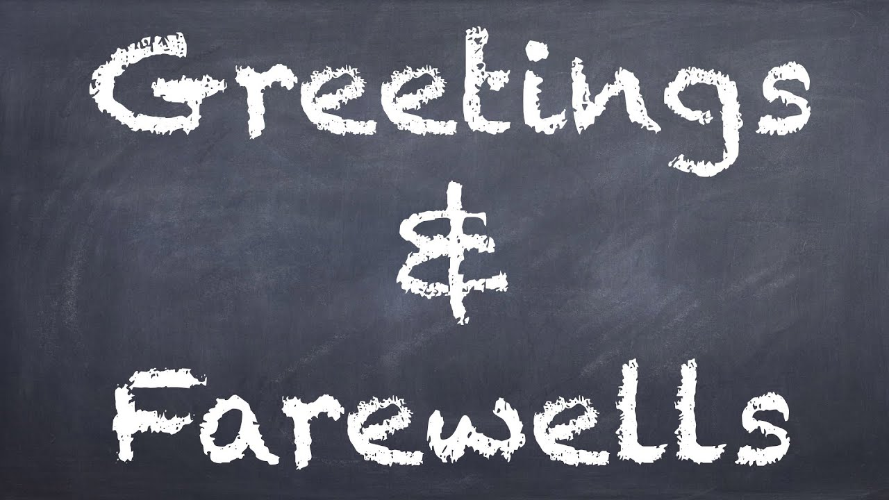 Greetings farewells german 1 grammar ws explanation deutsch greetings farewells german 1 grammar ws explanation deutsch lernen youtube kristyandbryce Choice Image