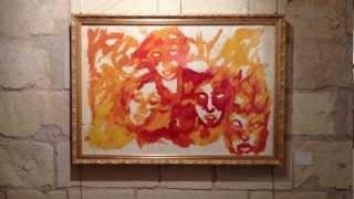 6.Exposition Gilles Cormery Show - Chateau de Tours Salle 4. 021.MOV