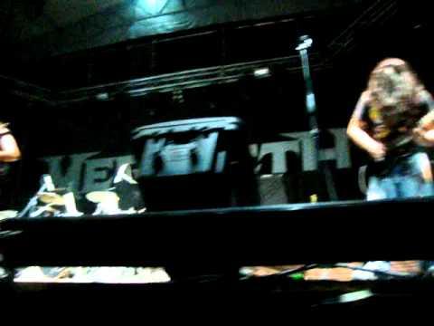 Megadeth En Paraguay 27/10/2011 The Force - Baphomet's Choir + Possessed By Metal