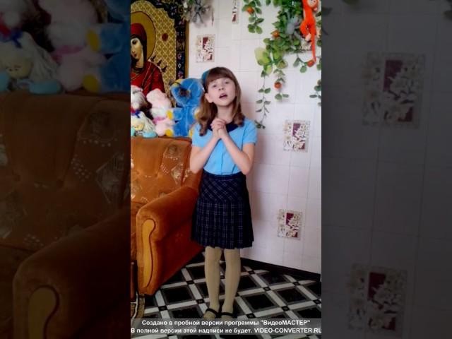 Изображение предпросмотра прочтения – КатяАстахова читает произведение «Ворона и Лисица» И.А.Крылова