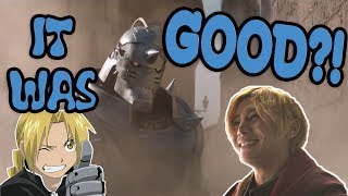 Fullmetal Alchemist Live Action is actually GOOD?! (Spoiler Free Review)