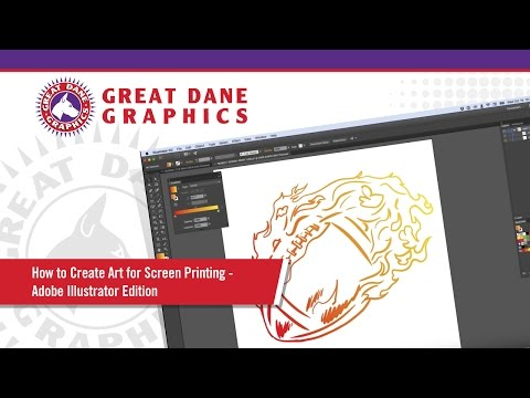 How to Create Art for Screen Printing - Adobe Illustrator Edition