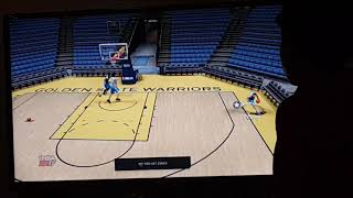Nba 2k17 ps3 Stephen Curry vs Kevin Durant three poing contest