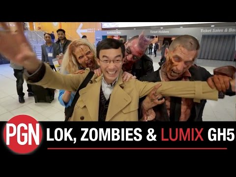 Lok, Zombies, GH5, Pro photographer Esther Ling & Mr Uematsu - The Photography Show meets Comic Con