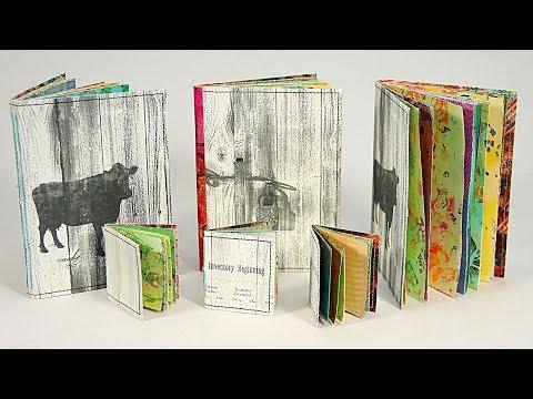 Tiny Handmade Books with Barb Owen - HowToGetCreative.com