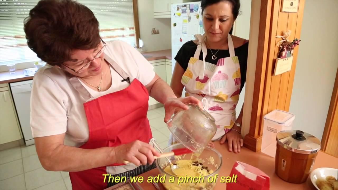 Cucina nonna episode 2 frittales with norma cremasco for A cucina ra nonna