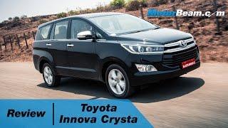 2016 Toyota Innova Crysta Review | MotorBeam