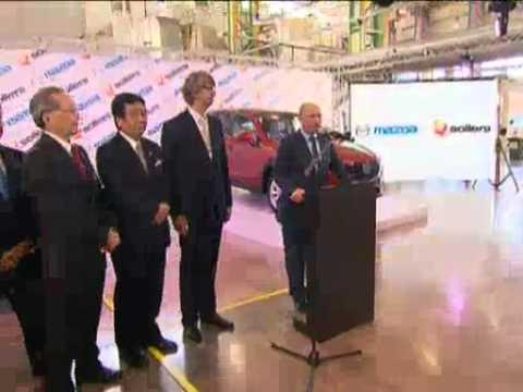 Sep 6, 2012 Russia_Putin opens Mazda production line in Vladivostok