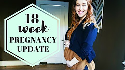 Pregnancy Update 18 Weeks | Weight Gain, Heartburn, Sciatica, Fears, and more!